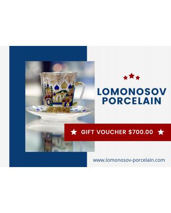 GIFT VOUCHER $700.00 LOMONOSOV IMPERIAL PORCLELAIN FACTORY