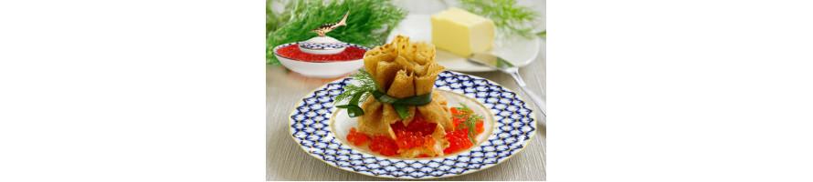 Beluga Caviar Dishes