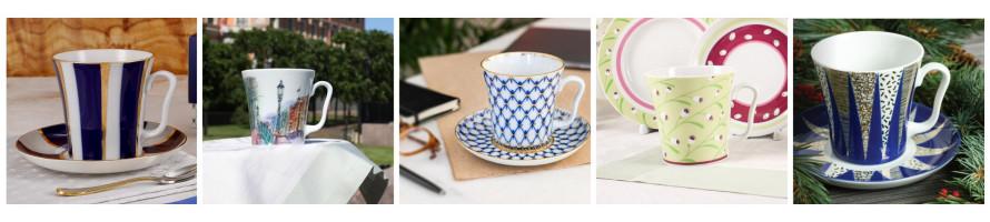 Latte Coffee & Hot Chocolate Mugs