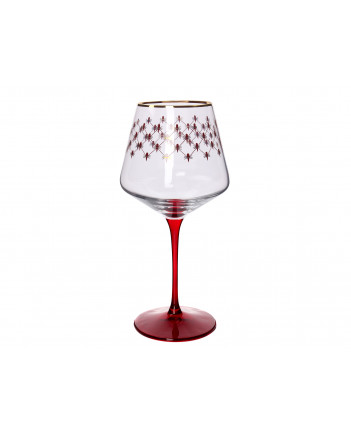 LOMONOSOV IMPERIAL GLASS WINE RED NET SET 6 PC 470 ML/15.9 FL.OZ