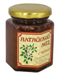 ECO ORGANIC NATURAL RUSSIAN SIBERIAN CREAMED SPREAD HONEY WITH BLUEBERRY