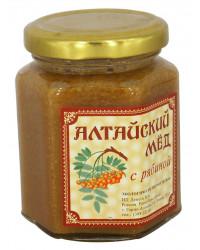 ECO ORGANIC NATURAL RUSSIAN SIBERIAN CREAMED SPREAD HONEY WITH ROWANBERRY