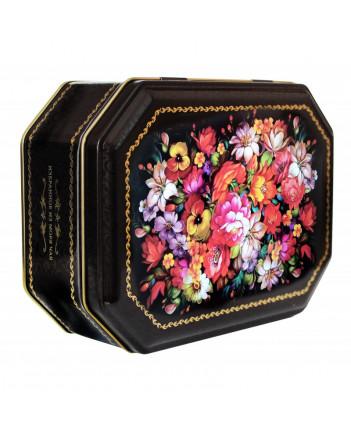 BLACK TEA IN METAL GIFT BOX ZHOSTOVO 75 GR 2.6 OZ