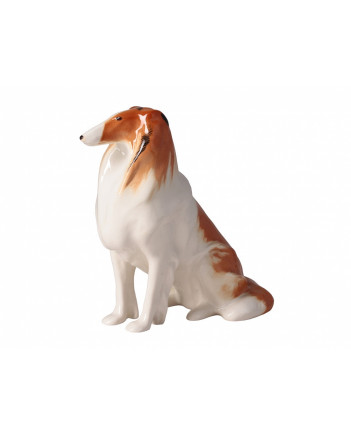 LOMONOSOV IMPERIAL PORCELAIN FIGURINE DOG COLLIE