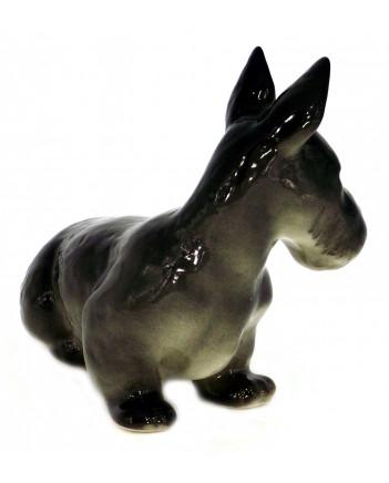 LOMONOSOV IMPERIAL PORCELAIN FIGURINE DOG SCOTTISH TERRIER