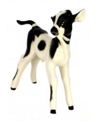 LOMONOSOV IMPERIAL PORCELAIN FIGURINE BULL CALF COW BABY