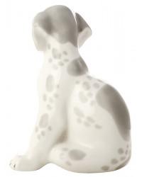 LOMONOSOV IMPERIAL PORCELAIN FIGURINE DOG DALMATIAN PUPPY