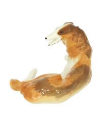 LOMONOSOV IMPERIAL PORCELAIN FIGURINE DOG BORZOI GREYHOUND WOLFHOUND