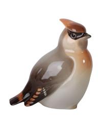 LOMONOSOV IMPERIAL PORCELAIN FIGURINE BIRD WAXWING #1