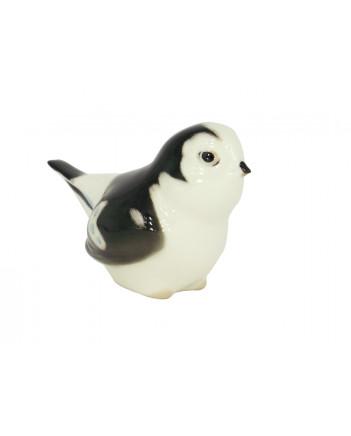LOMONOSOV IMPERIAL PORCELAIN FIGURINE BIRD SNOWBUNTING #2