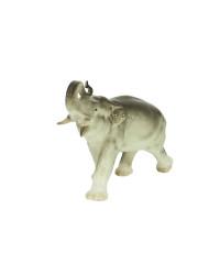 LOMONOSOV IMPERIAL PORCELAIN FIGURINE ELEPHANT RUNNING