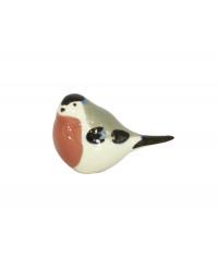 LOMONOSOV IMPERIAL PORCELAIN FIGURINE BIRD BULLFINCH SMALL