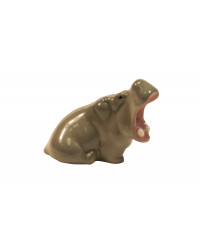 LOMONOSOV IMPERIAL PORCELAIN FIGURINE HIPPO BABY