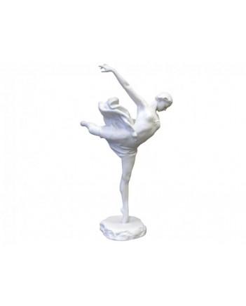 LOMONOSOV IMPERIAL PORCELAIN FIGURINE BALLET SWAN LAKE Galina Ulanova WHITE