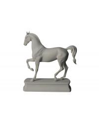 LOMONOSOV IMPERIAL PORCELAIN FIGURINE HORSE LIPIZZIAN WHITE