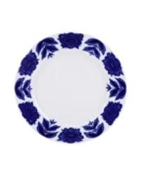 """LOMONOSOV IMPERIAL PORCELAIN DINNER PLATE AURORA FLEUR 27 cm 10.6"""""""