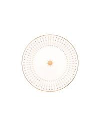 """LOMONOSOV IMPERIAL PORCELAIN DINNER PLATE AZURE GOLDEN 20 cm 7.9"""""""