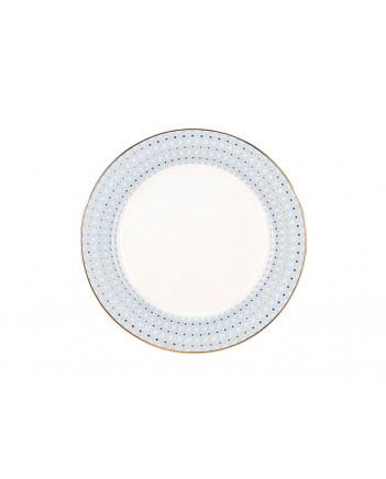"""LOMONOSOV IMPERIAL PORCELAIN DINNER PLATE AZURE v.2 SMOOTH 27 cm 10.6"""""""