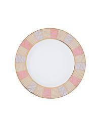 "LOMONOSOV IMPERIAL PORCELAIN DINNER PLATE FROSTY FAIRYTALE SMOOTH 27 cm 10.6"""