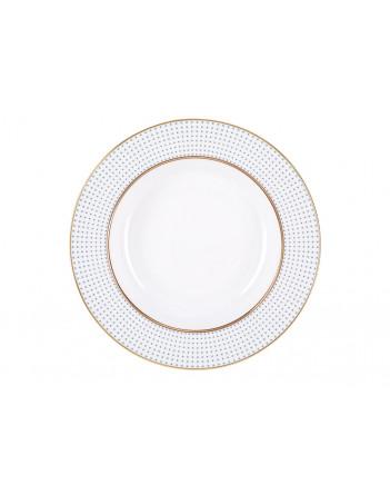 """LOMONOSOV IMPERIAL PORCELAIN DINNER PLATE DUBLIN DEEP 22.5 cm 8.9"""""""