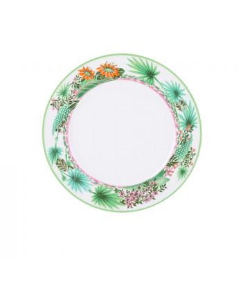 """LOMONOSOV IMPERIAL PORCELAIN DINNER PLATE JUNGLE 27 cm 10.6"""""""