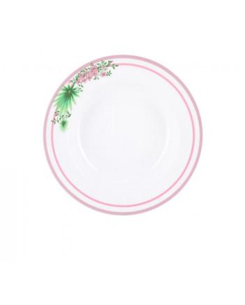 "LOMONOSOV IMPERIAL PORCELAIN DINNER PLATE JUNGLE DEEP 22.5 cm 8.9"""