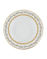 "LOMONOSOV IMPERIAL PORCELAIN DINNER PLATE DEEP JADE BACKGROUND 22.5 cm 8.9"""