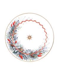 """LOMONOSOV IMPERIAL PORCELAIN DINNER PLATE KALENDA 20 cm 7.9"""""""