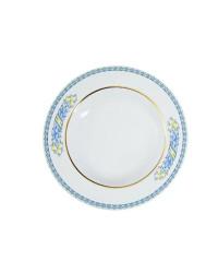 """LOMONOSOV IMPERIAL PORCELAIN DINNER PLATE AZZURRO DEEP 22.5 cm 8.9"""""""