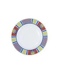 """LOMONOSOV IMPERIAL PORCELAIN DINNER PLATE ROSSO 21.5 Cm 8.5"""""""