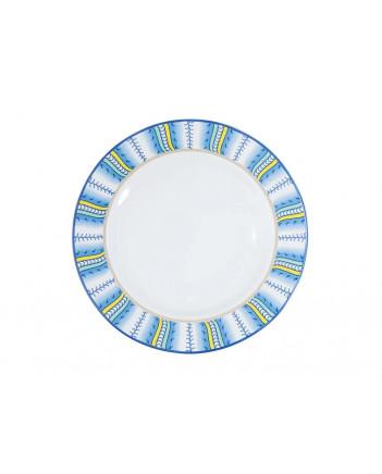"""LOMONOSOV IMPERIAL PORCELAIN DINNER PLATE AZZURRO 21.5 Cm 8.5"""""""