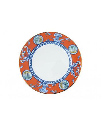 """LOMONOSOV IMPERIAL PORCELAIN DINNER PLATE ROSSO 27 Cm 10.6"""""""