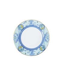 """LOMONOSOV IMPERIAL PORCELAIN DINNER PLATE AZZURRO 27 Cm 10.6"""""""