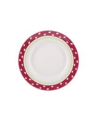 "LOMONOSOV IMPERIAL PORCELAIN DINNER PLATE SPRING BREEZE 24 cm 9.4"""