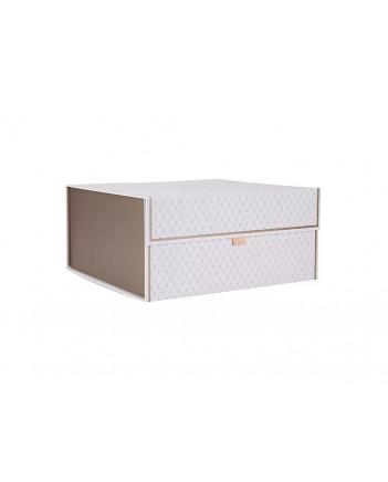 LOMONOSOV PORCELAIN FACTORY STORAGE BOX ORGANIZER FOR TEA COFFEE SETS AND SERVICES SMALL WHITE