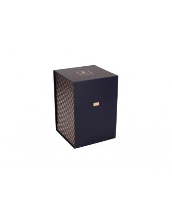 LOMONOSOV PORCELAIN FACTORY STORAGE BOX ORGANIZER FOR TEA COFFEE SETS AND SERVICES HIGH COBALT BLUE