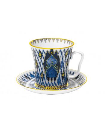 LOMONOSOV IMPERIAL PORCELAIN COFFEE LATTE HOT CHOCOLATE MUG KIZHI 360 ml/12.2 fl.oz