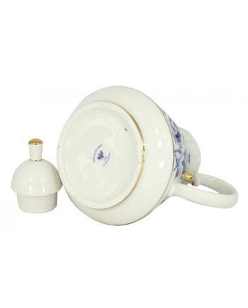 LOMONOSOV IMPERIAL PORCELAIN TEAPOT BLUEBELLS 750 ml 25.4 fl.oz