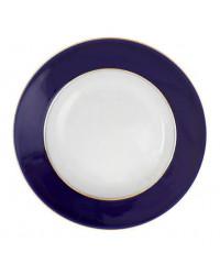 "LOMONOSOV IMPERIAL PORCELAIN DINNER DEEP PLATE CLASSIC OF PETERSBURG 22.5 cm/8.9"""
