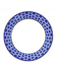 "LOMONOSOV IMPERIAL PORCELAIN DINNER PLATE BRIDGES OF PETERSBURG 20 cm 7.9"""