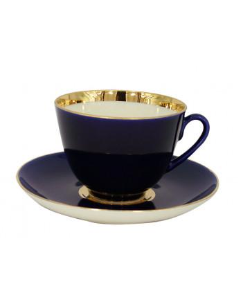LOMONOSOV IMPERIAL PORCELAIN TEA SET SERVICE SPRING NIGHT 14 items