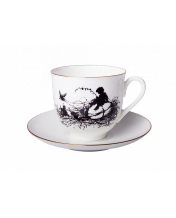 LOMONOSOV IMPERIAL BONE CHINA PORCELAIN ESPRESSO CUP BOY 180 ml 6.1 fl.oz