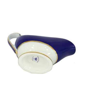 LOMONOSOV IMPERIAL PORCELAIN GRAVY BOAT CLASSIC OF PETERSBURG 150 ml/5.1 oz
