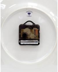 "LOMONOSOV IMPERIAL PORCELAIN DECORATIVE WALL CLOCK BALLET NUTCKRACKER 27 cm/10.6"""