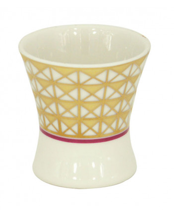 LOMONOSOV IMPERIAL PORCELAIN EGG HOLDER STAND CUP MOSCOW RIVER
