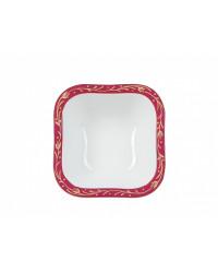 LOMONOSOV IMPERIAL PORCELAIN DINNER SET RED NET 24 items