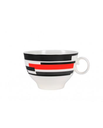 LOMONOSOV IMPERIAL BONE CHINA PORCELAIN TEA CUP APPLE SUPREMATISM MOVEMENT 160 ml/5.4 fl.oz