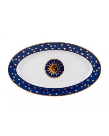 LOMONOSOV IMPERIAL PORCELAIN DINNER SET MOSCOW STARS 24 items