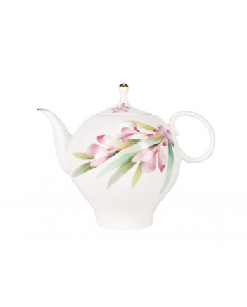 LOMONOSOV IMPERIAL BONE CHINA PORCELAIN TEA SET SERVICE AQUARELLE APPLE 20 items