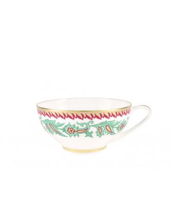 LOMONOSOV IMPERIAL BONE CHINA PORCELAIN TEA SET SERVICE ORIENTAL FLOWER DOME 20 items